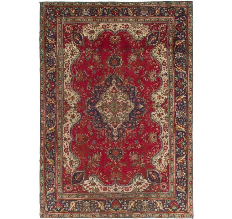 245cm x 340cm Tabriz Persian Rug