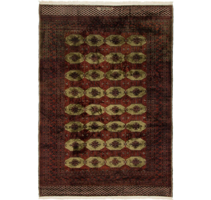 6' x 8' 9 Torkaman Persian Rug