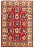 6' 2 x 9' Kazak Rug thumbnail