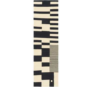 Image of 2' 9 x 9' 8 Kilim Modern Runner Rug