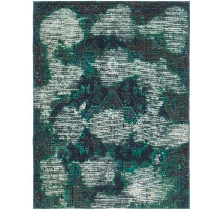 122cm x 163cm Ultra Vintage Persian Rug