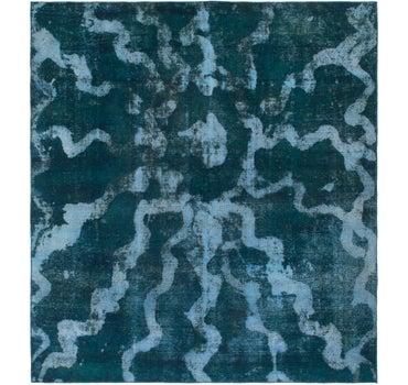 8' 10 x 9' 9 Ultra Vintage Persian Square Rug main image