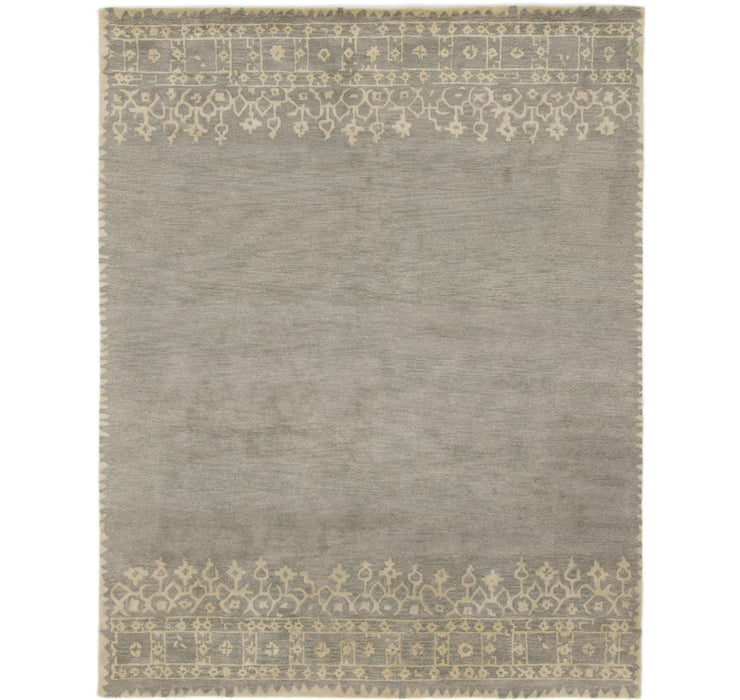 Image of 8' x 10' Reproduction Gabbeh Rug