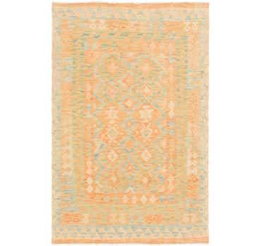 Image of 3' 2 x 4' 10 Kilim Waziri Rug