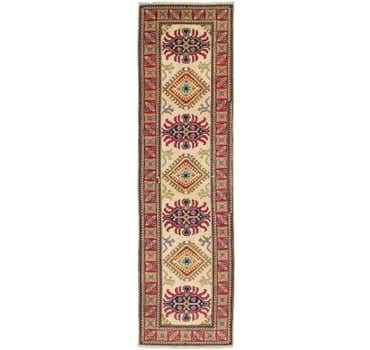 Image of 2' 8 x 9' 9 Kazak Runner Rug