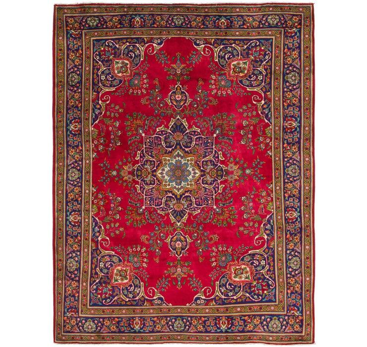 300cm x 395cm Tabriz Persian Rug