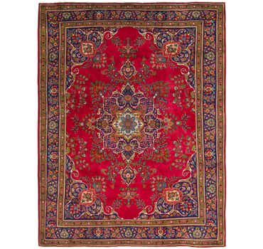 Image of  9' 10 x 13' Tabriz Persian Rug