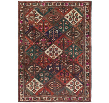 7' 3 x 10' Bakhtiar Persian Rug main image