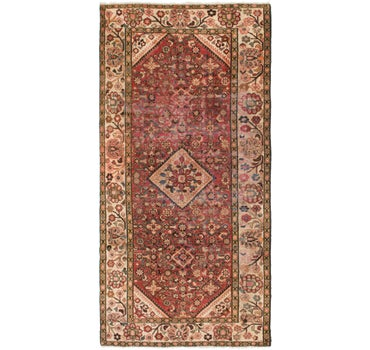 5' 2 x 10' 6 Hossainabad Persian Runner Rug main image