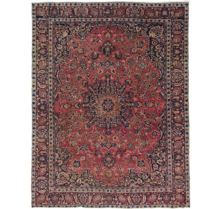 287cm x 373cm Mashad Persian Rug