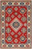 4' x 5' 10 Kazak Rug thumbnail