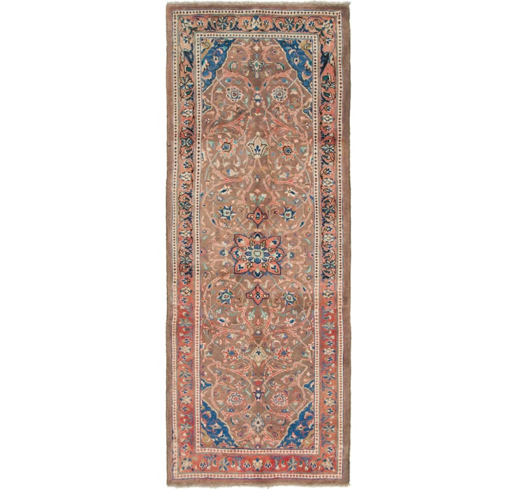 3' 9 x 9' 10 Mahal Persian Runner Rug