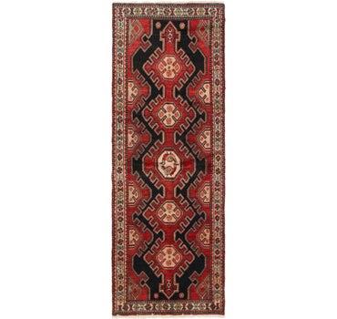 3' 4 x 9' 4 Hamedan Persian Runner Rug main image