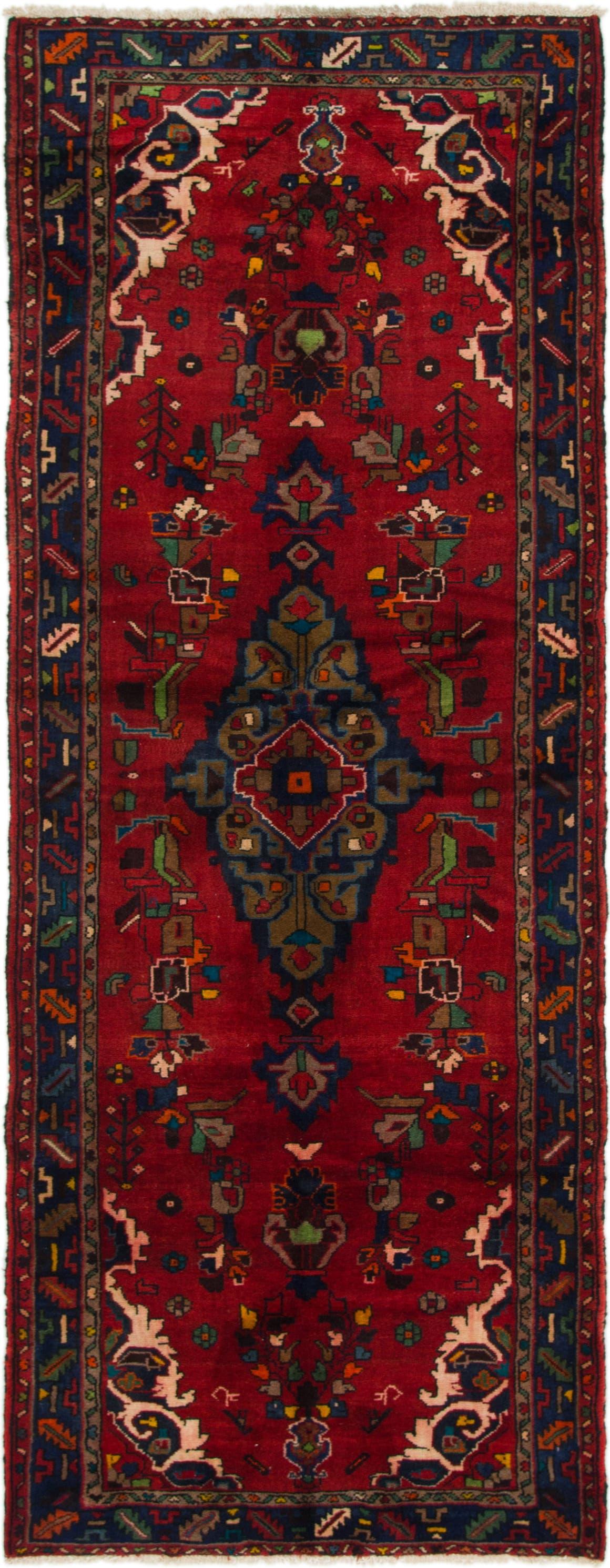 3' 9 x 9' 8 Roodbar Persian Runner Rug main image