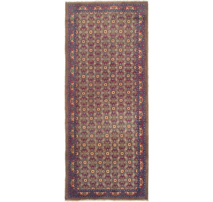 132cm x 305cm Mahal Persian Runner Rug