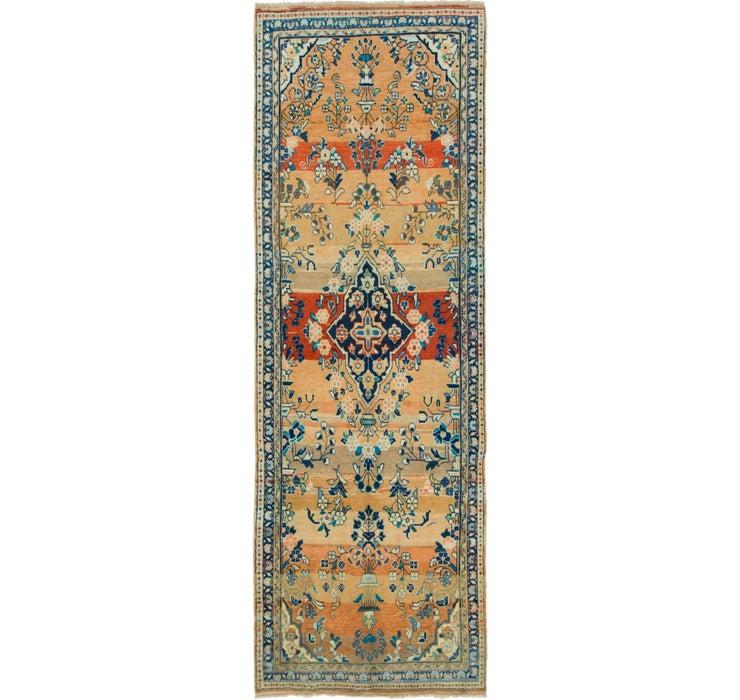110cm x 323cm Mahal Persian Runner Rug
