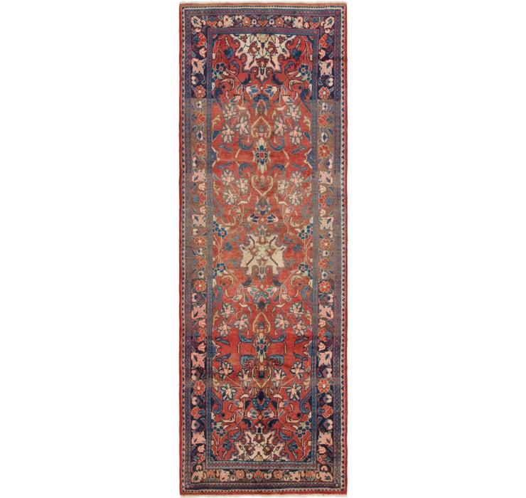 105cm x 328cm Mahal Persian Runner Rug