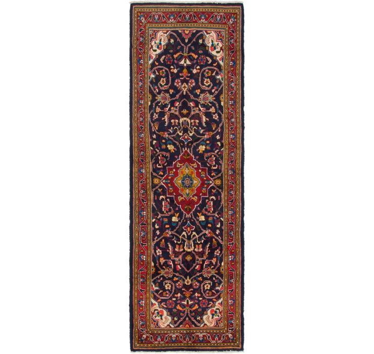 3' x 10' 9 Mahal Persian Runner Rug
