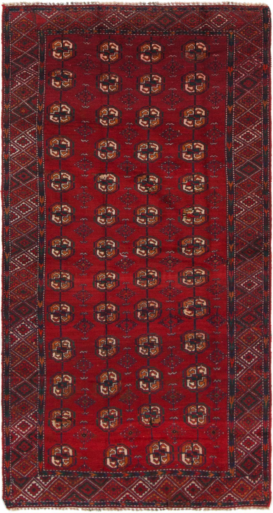 4' x 7' 6 Shiraz-Lori Persian Runner Rug main image