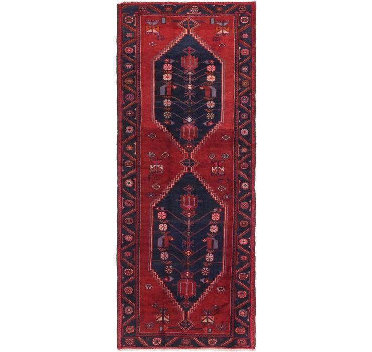 122cm x 305cm Zanjan Persian Runner Rug