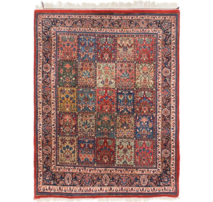 4' 10 x 6' 4 Sarough Oriental Rug