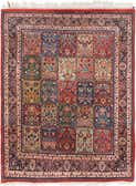 4' 10 x 6' 4 Sarough Oriental Rug thumbnail