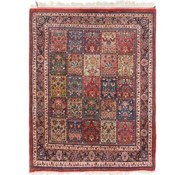 4' 10 x 6' 4 Sarough Oriental Rug main image