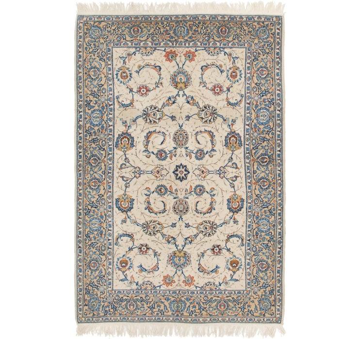 132cm x 208cm Kashan Persian Rug
