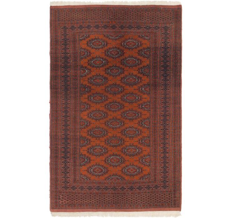 4' x 6' 6 Bokhara Oriental Rug