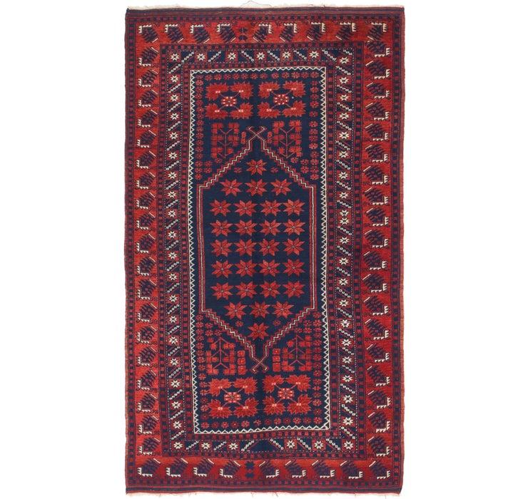 3' 9 x 6' 9 Kars Oriental Rug
