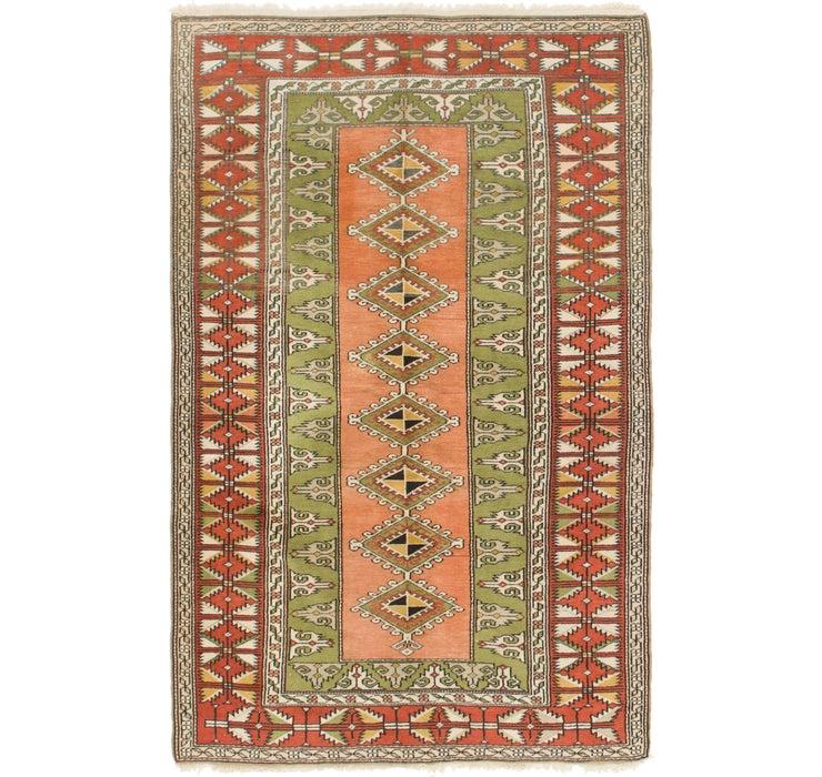 137cm x 218cm Yalameh Persian Rug