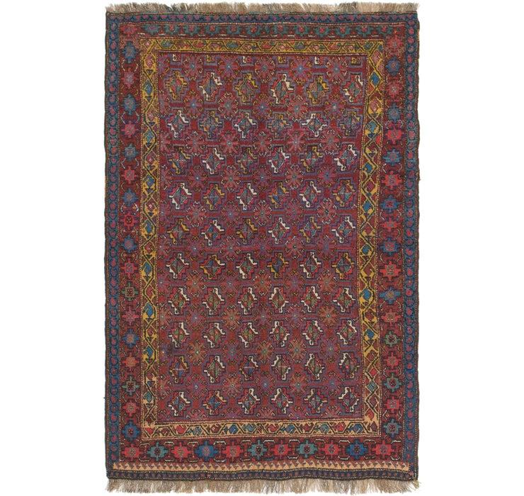 4' 3 x 6' 8 Shiraz Persian Rug