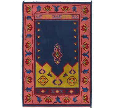 Image of 3' 3 x 5' Antique Finish Rug