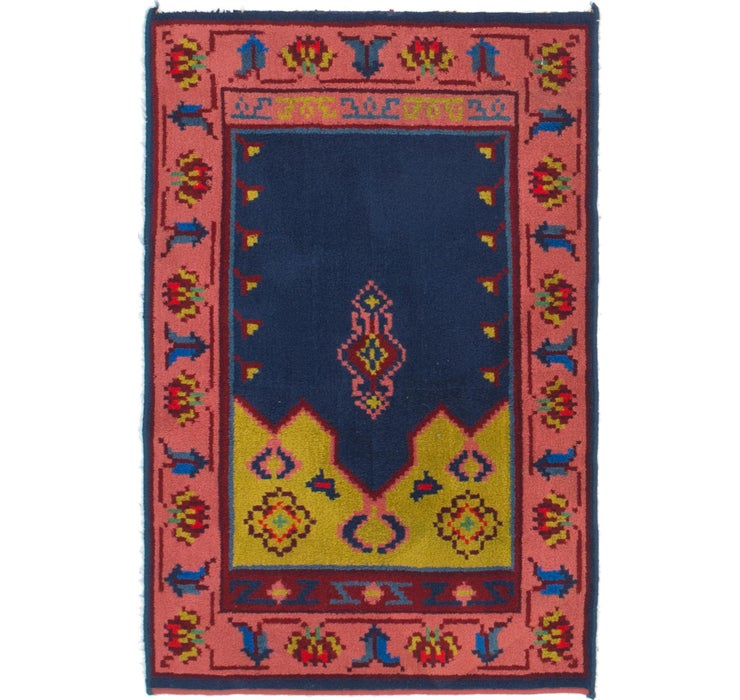 Image of 100cm x 152cm Antique Finish Rug
