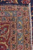9' 7 x 13' 2 Kashan Persian Rug thumbnail