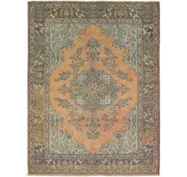 Image of  10' x 13' Tabriz Persian Rug