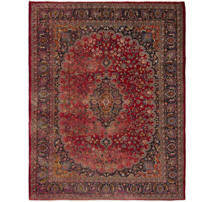 305cm x 378cm Mashad Persian Rug
