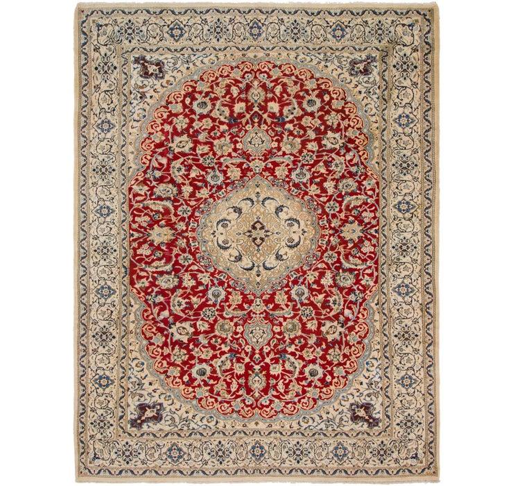 9' 7 x 12' 9 Nain Persian Rug