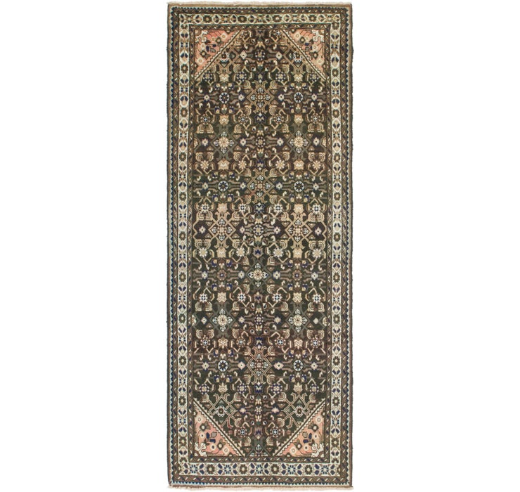 107cm x 300cm Hossainabad Persian Run...