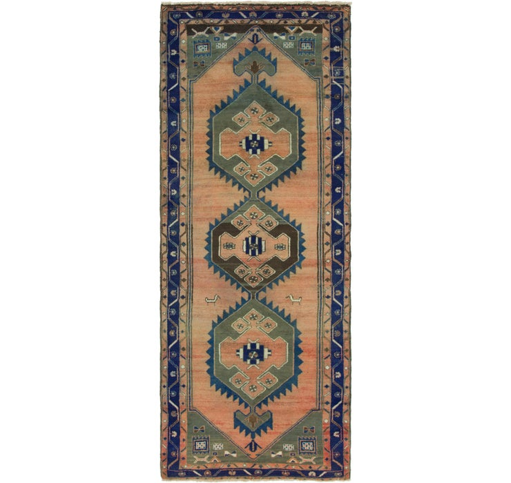 3' 7 x 9' 4 Saveh Persian Runner Rug