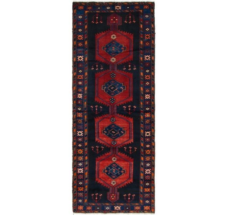 105cm x 292cm Zanjan Persian Runner Rug