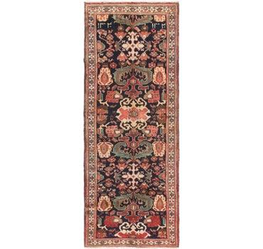3' 7 x 9' 4 Hamedan Persian Runner Rug main image