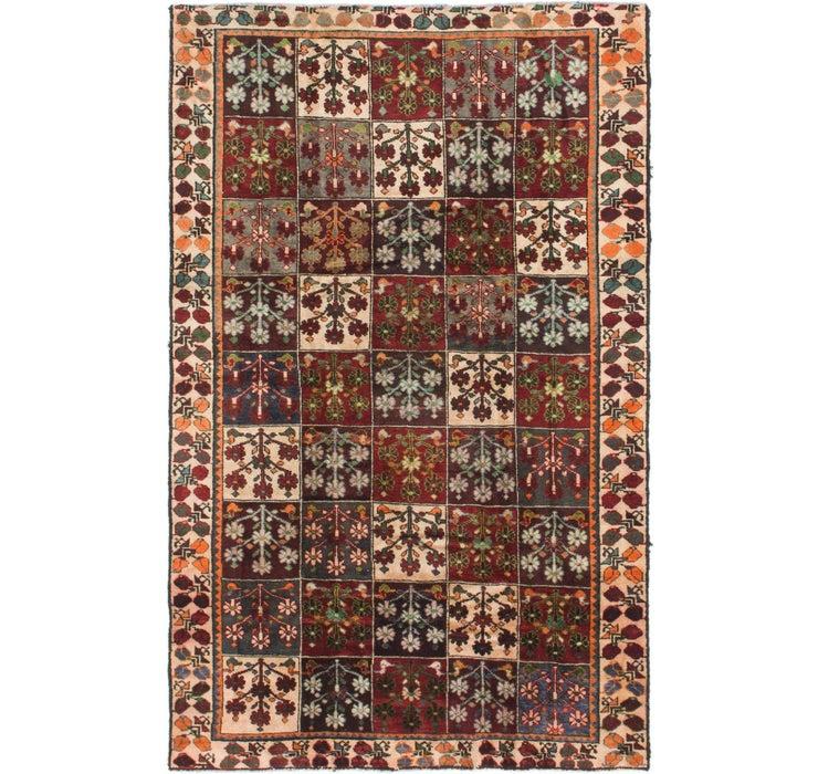 147cm x 235cm Hamedan Persian Rug
