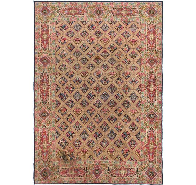 6' 10 x 9' 7 Kerman Persian Rug