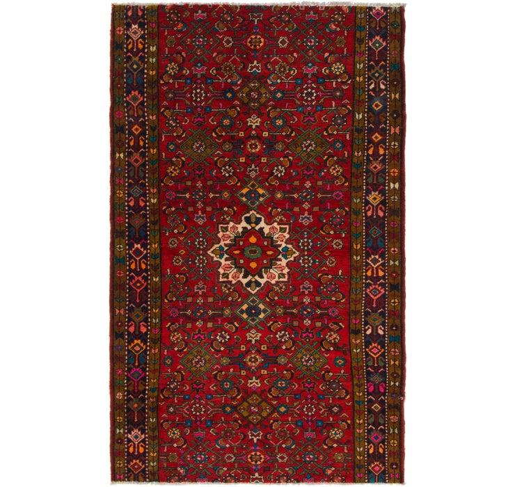 127cm x 205cm Hossainabad Persian Rug