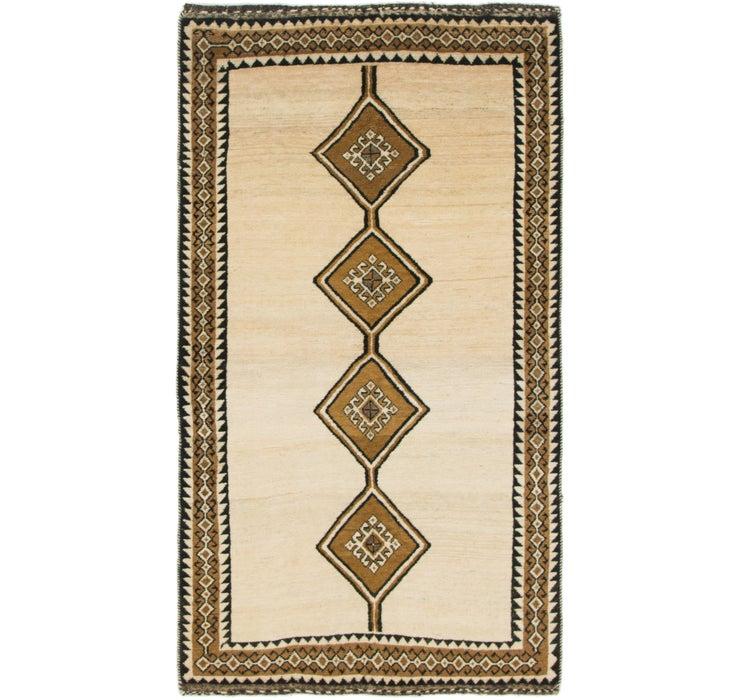 100cm x 183cm Shiraz-Gabbeh Persian Rug