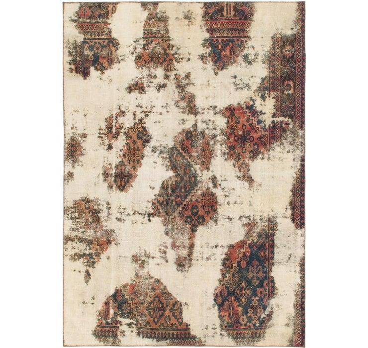 6' 2 x 8' 9 Ultra Vintage Persian Rug
