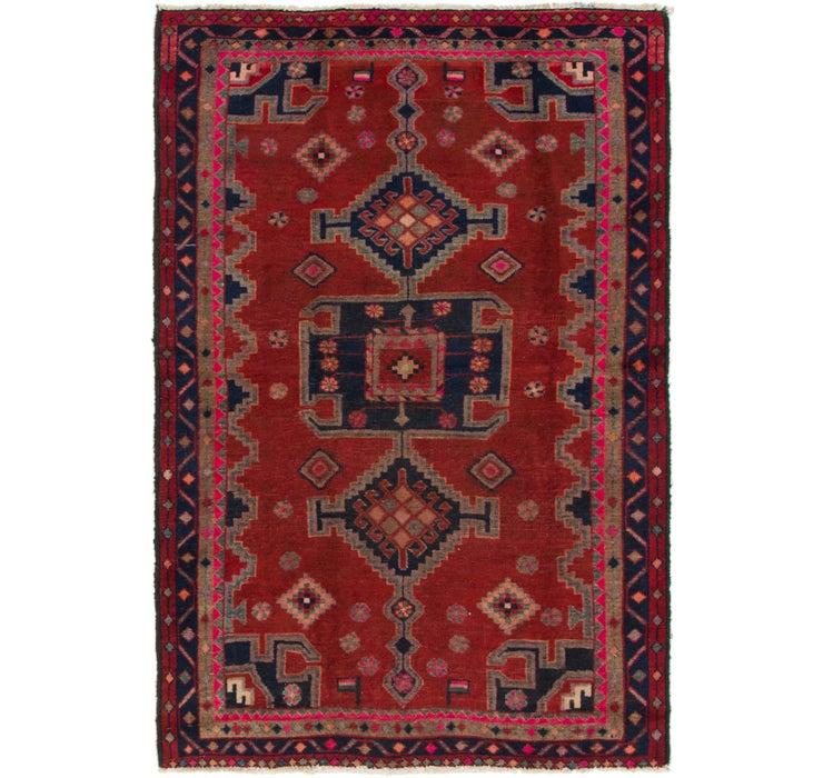 130cm x 193cm Ghashghaei Persian Rug