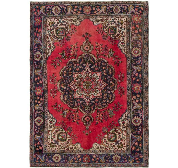 7' 5 x 9' 3 Tabriz Persian Rug