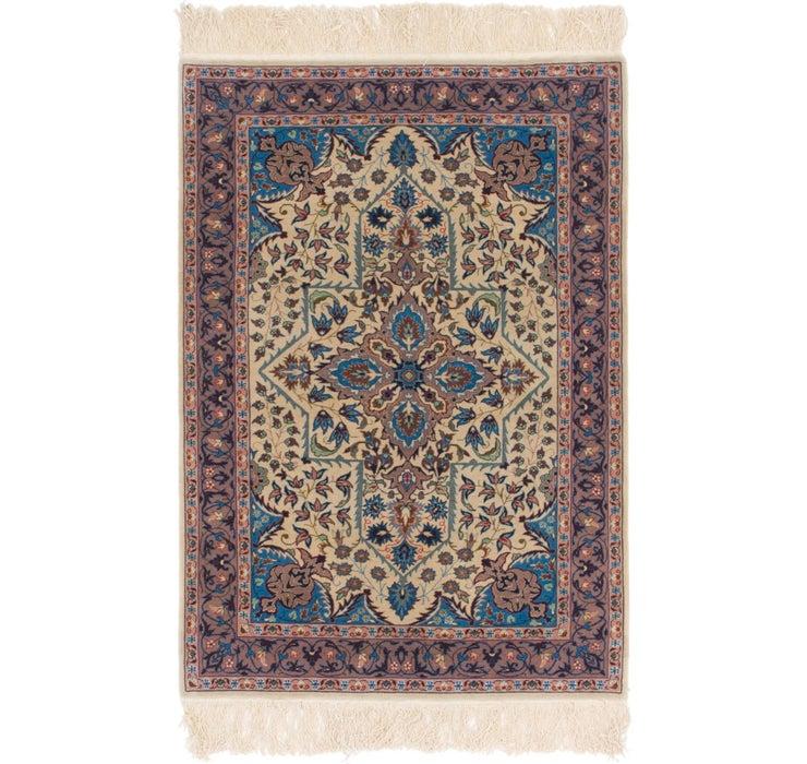 97cm x 145cm Isfahan Oriental Rug